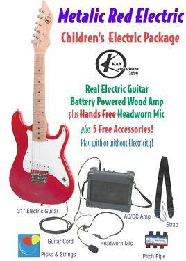 Kay KEAM-MR Childrens Guitar Package on Sale
