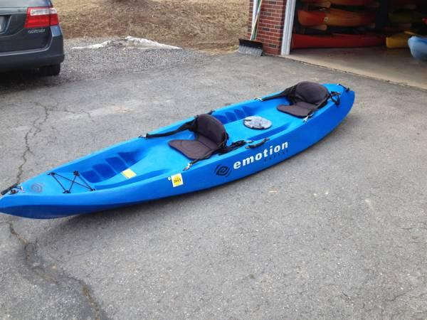 Kayak Emotion Comotion Tandem Kayak For Sale In Coon