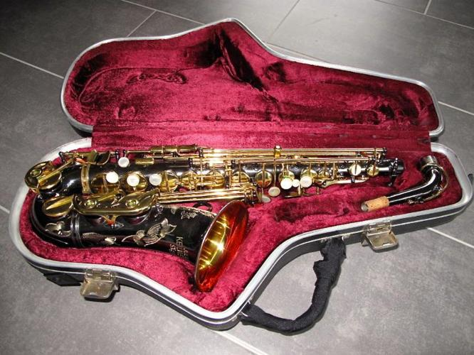 Keilwerth sx90r alto saxophone black nickel