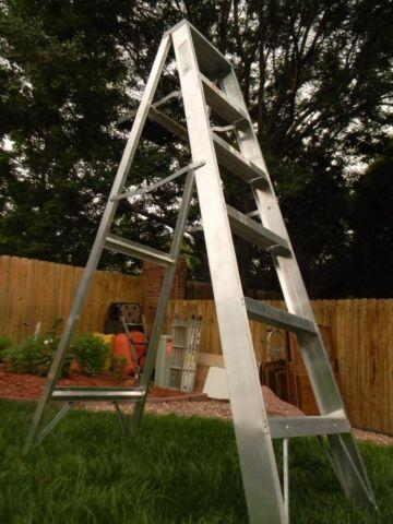 Keller 6-Foot Aluminum Step Ladder, 200 Lbs. Cap, 93