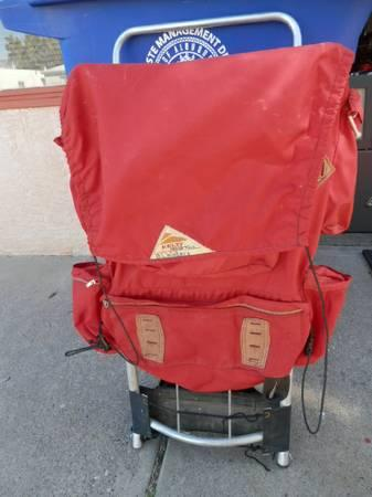 Kelty - Large Red external Frame Backpack - $30