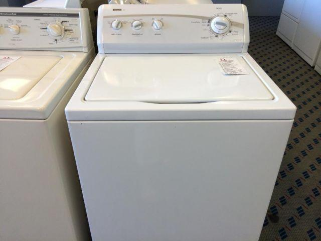 how to clean kenmore washing machine