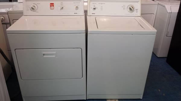 KENMORE 80 SERIES WASHER  DRYER PAIR HEAVY DUTY SUPER CAPACITY WARNTY - $299