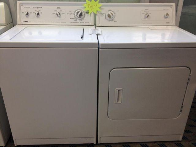 Kenmore 80 Series Washer Amp Dryer Set Pair Used For
