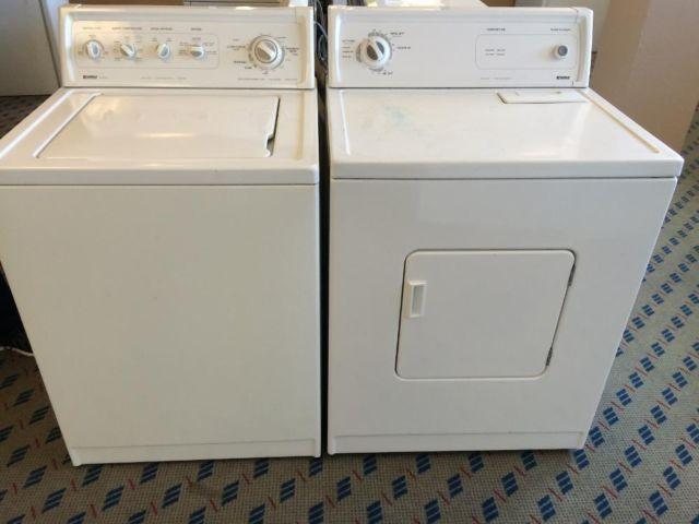 Kenmore Series Washer Dryer Set Pair Used Americanlisted on Kenmore Dryer Model 110 Parts