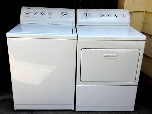Kenmore 800 Series Kingsize Capacity Washer Amp Gas Dryer