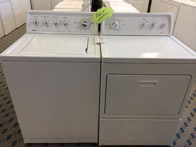 Kenmore 90 Series Matching Washer Dryer Set Pair