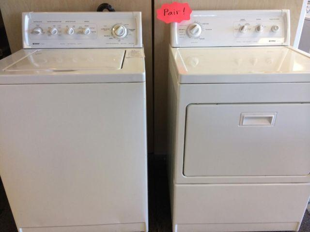 Kenmore 90 Series Washer Amp Dryer Set Pair Used For