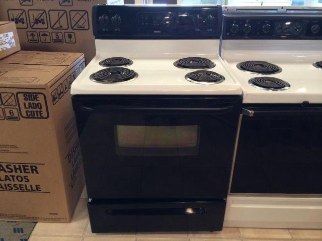 Kenmore Black Amp White Electric Range Stove Oven Used For