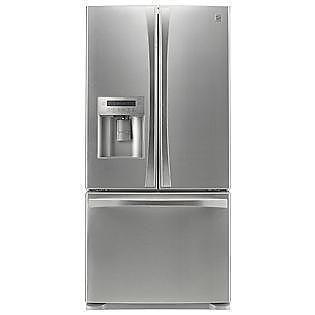 Kenmore Elite 25 Cu Ft Refrigerator Stainless Steel