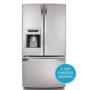 Kenmore Elite 31 Cu Ft French Stainless Steel Refrigerator New