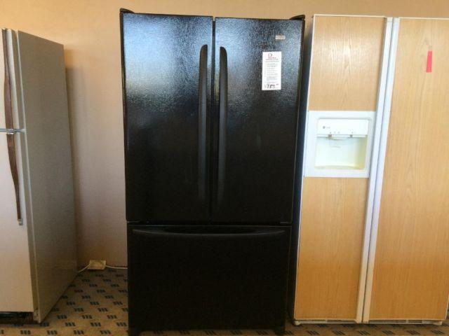 Kenmore Elite Black French Door Refrigerator USED for