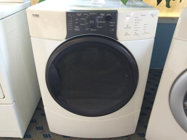 Kenmore Elite Front Load Dryer He3 Used For Sale In