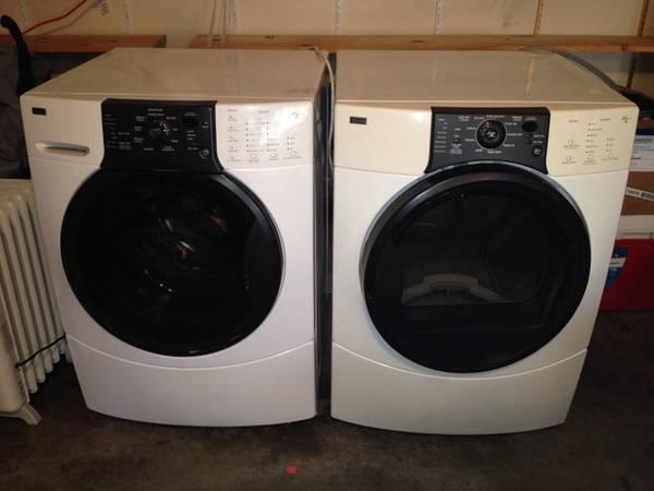 Kenmore Elite Front Load Washer Dryer Set Excellent