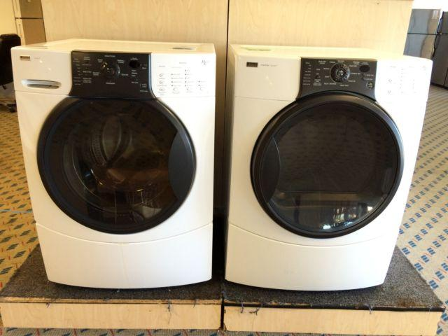 Kenmore Elite Front Load Washer Amp Dryer Set Pair Used