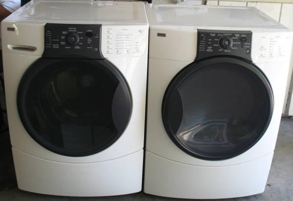 Kenmore Elite He 3 Front Load Washer And Dryer
