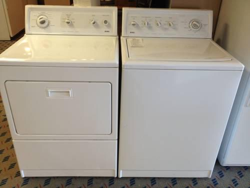 Kenmore elite king size washer dryer set used for sale for Kenmore elite dryer motor