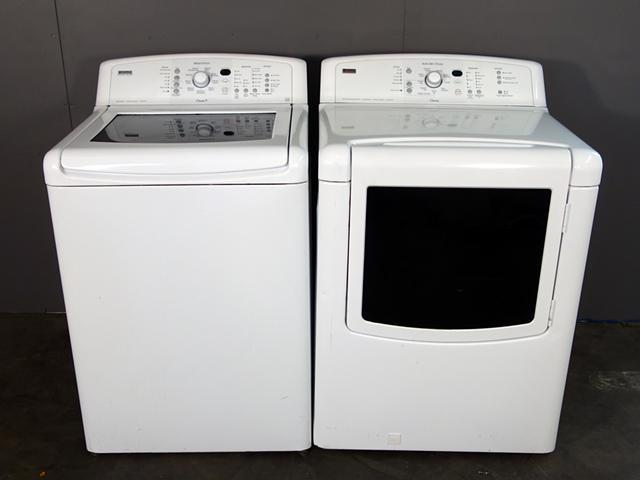 Kenmore Elite Oasis Top Load Washer And Gas Dryer For Sale