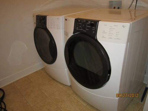 Kenmore Elite Quiet Pak Washer Dryer Matching Set For Sale