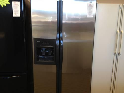 Kenmore Elite Stainless Side By Side Refrigerator Freezer