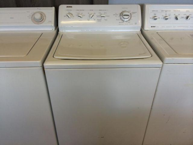 Kenmore Elite Top Load Washer Washing Machine Used For
