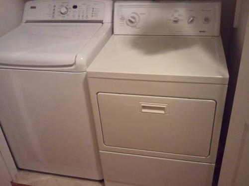 Kenmore Elite Washer And Kenmore 90 Series Dryer
