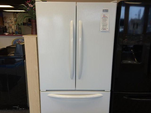 Kenmore Elite White French Door Refrigerator Freezer Used For Sale