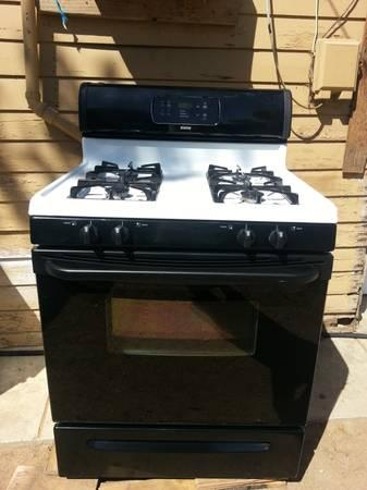 Kenmore Gas Stove With Clock For Sale In Bakersfield