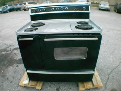 stove with griddle. Kenmore Gourmet Edition Electric Stove With Griddle And