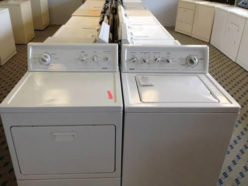 Kenmore Heavy Duty Super Capacity Plus Washer Dryer Set