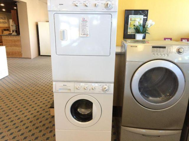Kenmore Stacked Washer Dryer Set Pair Used For Sale