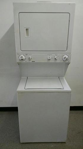 Kenmore washer and dryer stackable. Set up warranty  free delivery wremoval