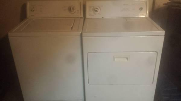 kenmore washer and gas dryer - $100