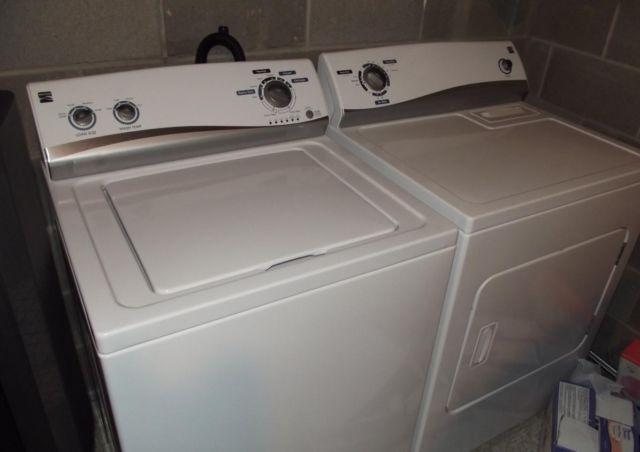Kenmore Washer Amp Dryer 2 Yrs Old Excellent Condition