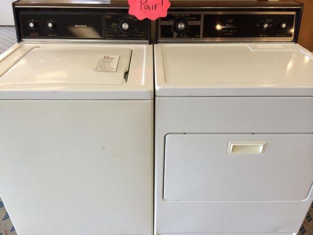 Kenmore Washer U0026 Dryer Set / Pair   USED