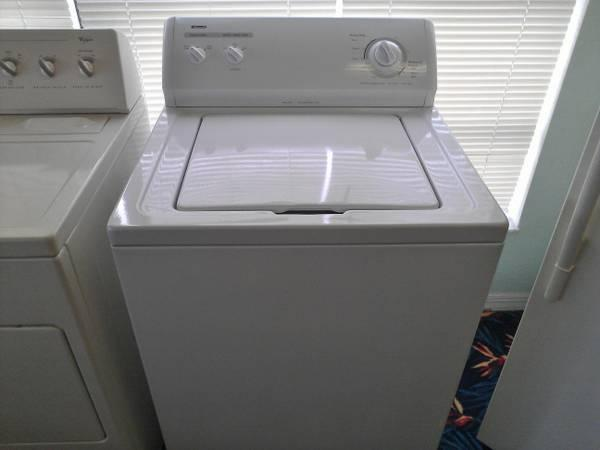 kenmore washer super capacity with warranty for sale in stuart florida classified. Black Bedroom Furniture Sets. Home Design Ideas