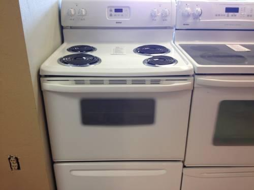 Kenmore White Electric Range Stove Oven Used For Sale In