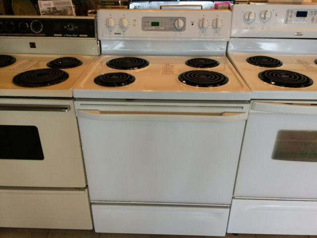 Kenmore white range stove oven used for sale in tacoma for Lakewood wood stove for sale