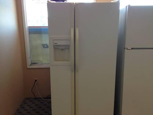 Kenmore White Side By Side Refrigerator With Water Amp Ice