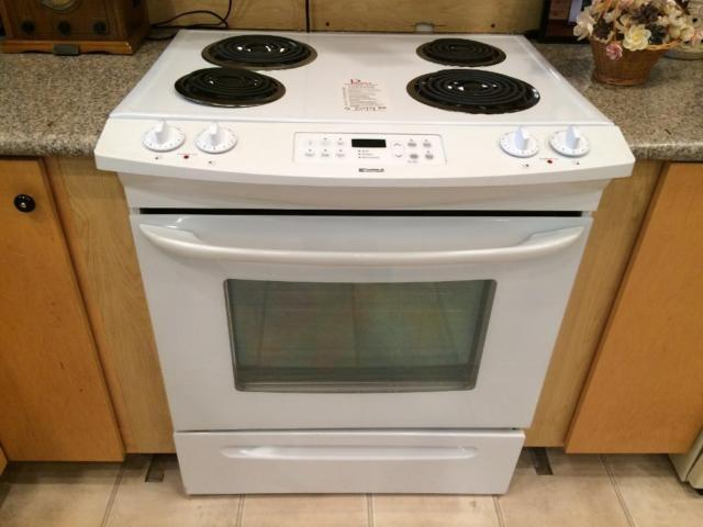 Kenmore White Slide-In Electric Range Stove Oven - USED ...