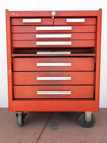 Kennedy Roll Around Bottom Tool Box 8 Drawer 27w x 35t x 18d