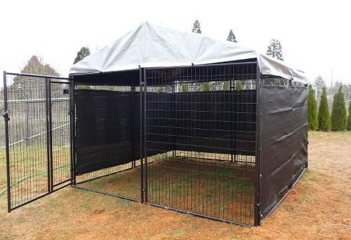 garage sale marketing ideas - Kennel for Dog Livestock if needed 10 X 10 X 6 Welded