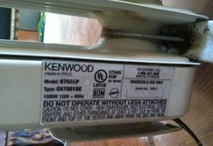 Kenwood Oil Filled Electric Radiator Room Heater Chico