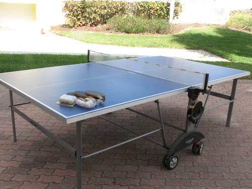 kettler top star xl outdoor table tennis ping pong table. Black Bedroom Furniture Sets. Home Design Ideas