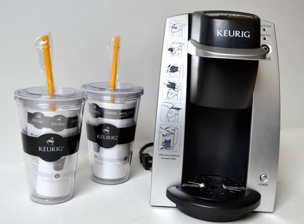 KEURIG B130 SILVER DESKPRO SINGLE-CUP BREWING SYSTEM+