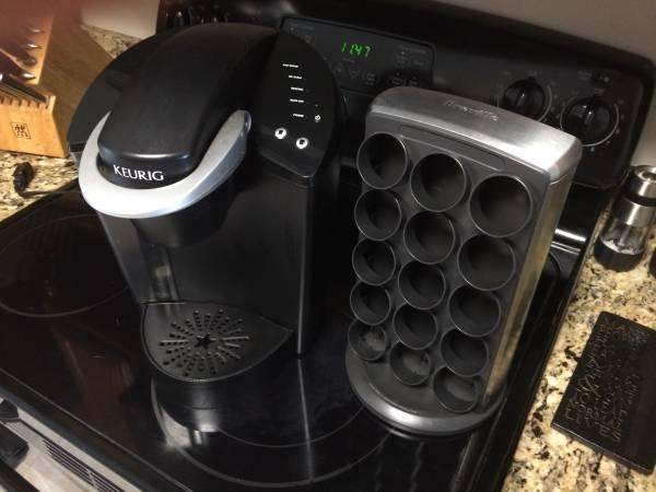 Keurig Coffee Maker w/Kcup Holder - $80