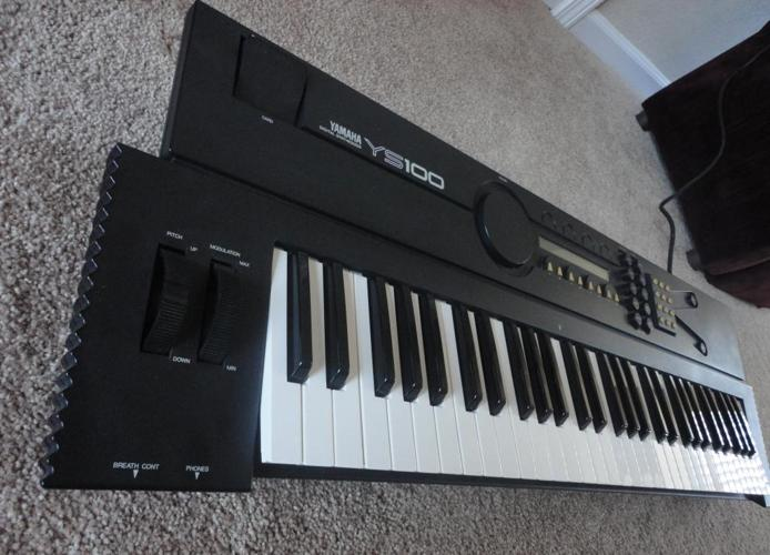 Keyboard yamaha ys100 synthesizer albuquerque for sale for Yamaha music school los angeles