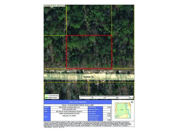 KEYSTONE HEIGHTS, FL Clay Country Land 0.690000 acre