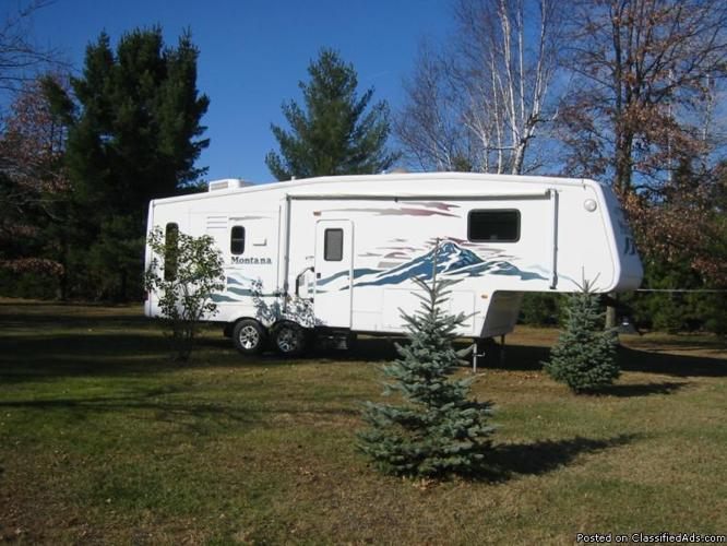 Keystone Montana 5th Wheel For Sale In Bay Mills Wisconsin Classified
