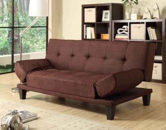 Khaki Klik Klak Futon Sofa Bed For Sale In Half Moon Bay